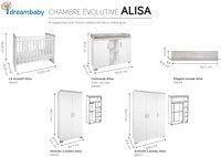 Transland Chambre évolutive 3 pièces avec armoire 3 portes Alisa-Détail de l'article