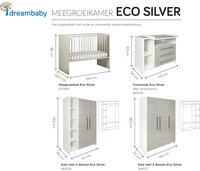 Schardt 3-delige meegroeikamer met kast met 3 deuren Eco Silver-Artikeldetail
