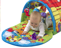 Playgro tapis de jeu/tunnel Puppy Playtime Tunnel Gym-Image 2