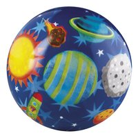 Crocodile Creek Rubberen bal Solar System 10 cm