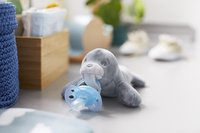 Philips AVENT Sucette + 0 mois Snuggle Phoque-Image 1