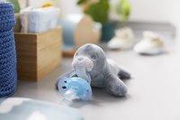 Philips AVENT Fopspeen met knuffel + 0 maanden Snuggle Zeehond-Afbeelding 1