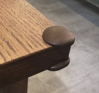 BabyDan Protection pour coins de table brun - 4 pièces-commercieel beeld
