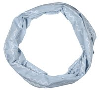 Lässig Châle/écharpe d'allaitement Loop Vibration bleu clair