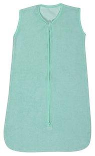 Dreambee Sac de couchage d'été Essentials éponge tissu-éponge vert menthe 90 - 110 cm