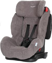 Dreambee Housse d'été pour siège-auto groupe 1/2/3 gris tissu-éponge-Côté gauche