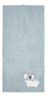 Dreambee Serviette Kai Lg 50 x L 100 cm bleu - 2 pièces-Avant