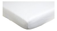 Trois Kilos Sept Hoeslaken voor bed wit tetra B 60 x L 120 cm