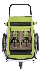 Croozer Fietskar Kid for 2 Click & Crooze meadow green/sand grey-Artikeldetail