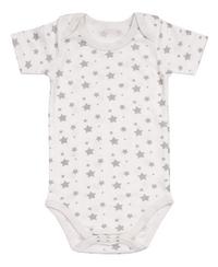 Dreambee Body à manches courtes Essentials étoile blanc/gris - 3 pièces-Détail de l'article