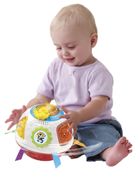 VTech dierendraaibal wit/rood-Afbeelding 1