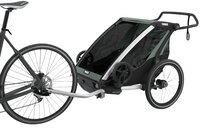Thule Fietskar Chariot Lite 2 Agave Black-Afbeelding 3
