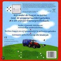Babyboek Het allermooiste tractorboek - Dawn Sirett-Achteraanzicht