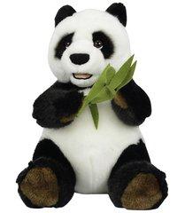 Peluche Panda avec du bambou 25 cm