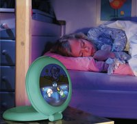 Claessens'Kids Reiswekker Kid'Sleep Globetrotter lichtgroen-Afbeelding 1