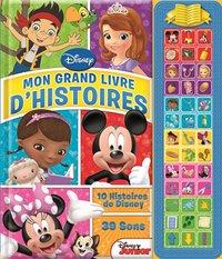 Boek Disney Junior: Mon grand livre d'histoires