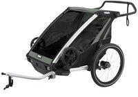 Thule Fietskar Chariot Lite 2 Agave Black-Rechterzijde