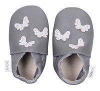 Bobux Chaussons Soft soles Butterflies grey pointure 16/17