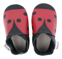 Bobux Chaussons Soft soles Ladybird red/black