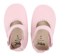 Bobux Chaussons Soft soles Mary Jane light pink pointure 18/19