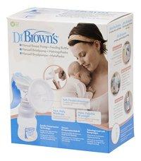 Dr. Brown's Tire-lait manuel Simplisse-Avant