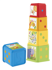 Fisher-Price Blocs à empiler Cubes découvertes