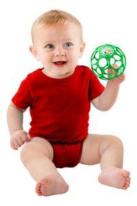 Oball Grijpbal met rammelaar 10 cm-Afbeelding 1