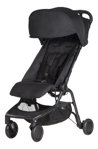 Mountain Buggy Buggy Nano² black-commercieel beeld
