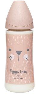 Suavinex Zuigfles Hygge Pink Whiskers 360 ml-Vooraanzicht
