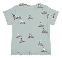 Babyface T-shirt met korte mouwen Grey Mint-Achteraanzicht