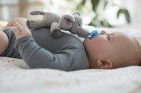 Philips AVENT Fopspeen met knuffel + 0 maanden Snuggle Olifant-Afbeelding 3