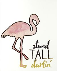 RoomMates Cadre Flamingo Stand Tall Darlin'