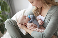 Philips AVENT Sucette + 0 mois Snuggle Phoque-Image 5