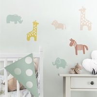 RoomMates Sticker mural Multi Animals