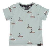 Babyface T-shirt met korte mouwen Grey Mint-Vooraanzicht