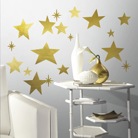 RoomMates Sticker mural Golden Stars