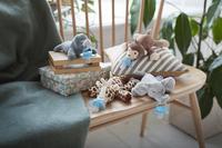 Philips AVENT Fopspeen met knuffel + 0 maanden Snuggle Olifant-Afbeelding 2