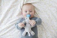Philips AVENT Fopspeen met knuffel + 0 maanden Snuggle Olifant-Afbeelding 4