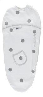 Puckababy Inbakercape Original Piep katoen Dotty white 0 - 3 maanden