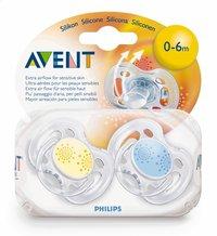 Philips AVENT 2 sucettes 0 - 6 mois-Avant