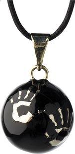 Babylonia Grelot de grossesse Bola avec mains noir
