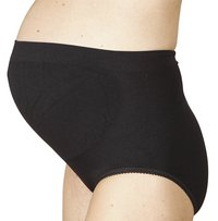 Carriwell Zwangerschapsslip zwart S-Vooraanzicht