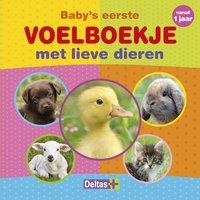 Livre Baby's eerste voelboekje met lieve dieren NL