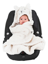 Jollein Wikkelcape Bunny off white-Afbeelding 1