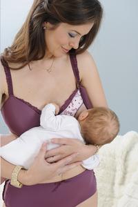 Mammae Soutien-gorge d'allaitement Classic Purple Promise 75 E-Image 2