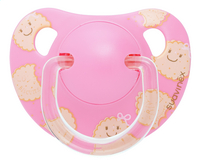 Suavinex Sucette 6 - 18 mois Anatomical 17 pink biscuit
