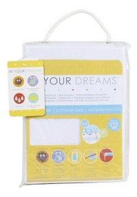 Baby Care Protège-matelas coton/polyester/polyuréthane (PU) Lg 40 x L 80 cm-Avant