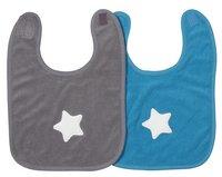 Dreambee Bavoir Essentials étoile avec fermeture velcro - 2 pièces