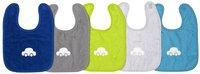 Dreambee Slabbetje Essentials auto met velcrosluiting - 5 stuks