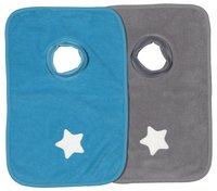 Dreambee Slabbetje Essentials ster met pull-overkraag - 2 stuks